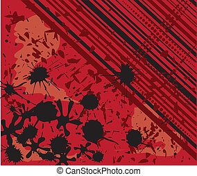 abstract background with ink spots