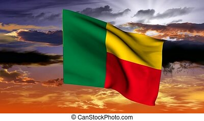 Flag of the Republic of Benin (West