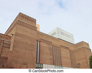 Tate Gallery - Tate Modern art gallery in South Bank...