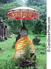 Buddha in Wat Phu