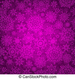 Seamless deep purple christmas pattern EPS 8 - Seamless deep...