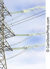 transfer of the electric power - Technical process of...