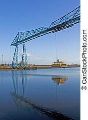 Transporter Bridge Middlesborough - Transporter bridge...