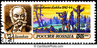 Lavrenty Zagoskin Explorer Alaska Yukon - RUSSIA - CIRCA...