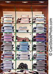 Shopping shirt store - Shopping elegant italian shirt store...