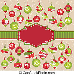 christmas lovely frame - abstract christmas lovely cute...