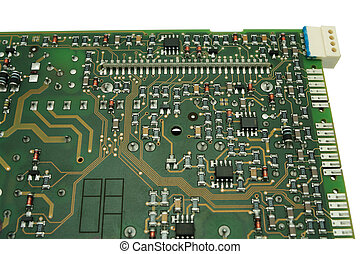 Electronic circuit board - Electronic circuit board close...