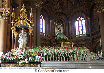 Assumption Cathedral - Altar inside Assumption Cathedral in...