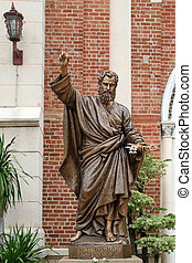 Statue Apostol - Statue of Apostol Peter near Assumption...