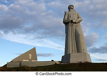 Memorial of soviet soldiers - Memprial of soviet soldiers in...