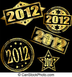 2012 Gold Stamp