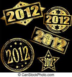 2012 Gold Stamp