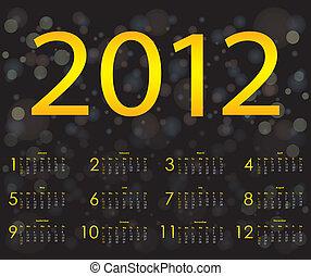 special calendar design 2012