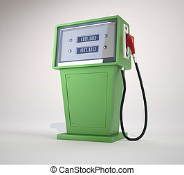 Fuel pump This is a 3d render illustration
