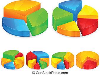 Color circular diagrams