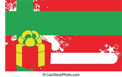 xmas gift box background1