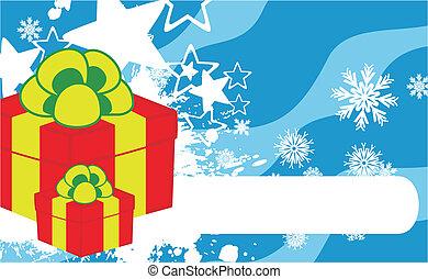 xmas gift box background2