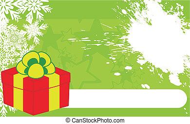 xmas gift box background3