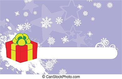 xmas gift box background5