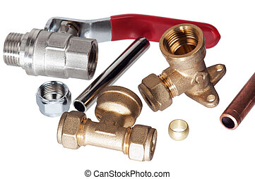 Plumbing fixtures and piping parts - Plumbing fixtures and...