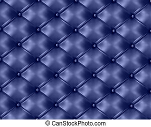 Blue button-tufted background