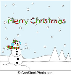christmas toon card