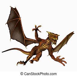 dragão, Vôo