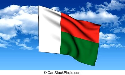 Flag of Madagascar - The series includes all the flags of...