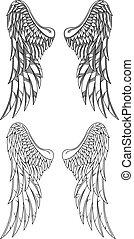 矢量, 翅膀
