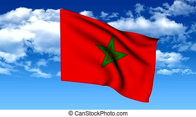 Flag of morocco - The series includes all the flags of...