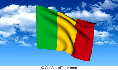 Flag of mali - The series includes all the flags of mali,...
