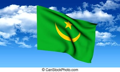 Flag of mauritania - The series includes all the flags of...