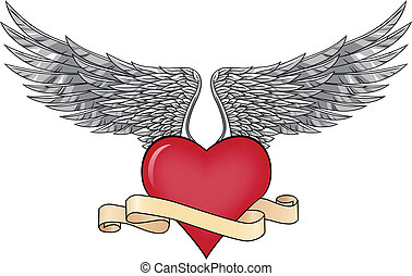 Love and wings