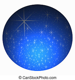 Starry sky -  Abstract starry dark nighttime sky background
