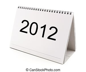 Happy New Year 2012 - calendar shows Happy New Year 2012 on...