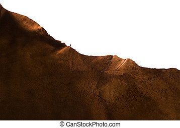 Brown animal leather texture