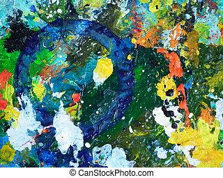 Artists mess
