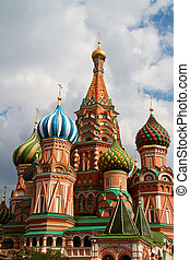 The Cathedral of Saint Basil the Blessed or simply...