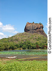 The Sigiriya (Lion's rock) is an ancient rock fortress and...