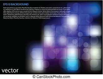 Abstract technology background - vector abstract blue...