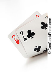 loser texas holdem starting hand, two, seven