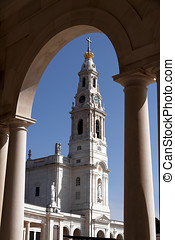 Shrine of Fatima - Interesting picture of the shrine of...