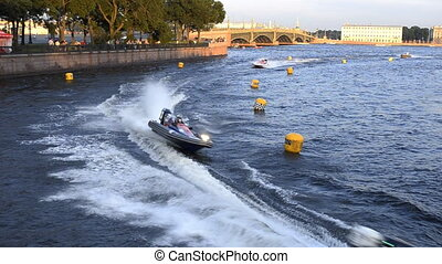 24 hour motor boat race