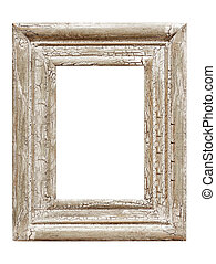 Distressed Picture Frame - Distressed painted picture frame,...