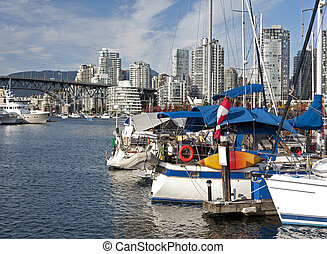 New buildings in Vancouver - False Creek and Vancouver...