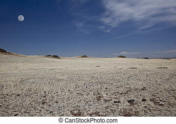Plains of Northern New Mexico - Volcanic cinder cones on the...