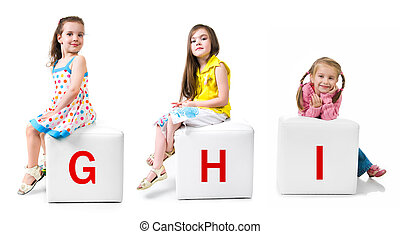 little kid on the block with letter