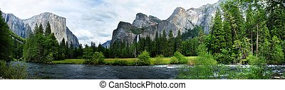 El Capitan Yosemite Nation Park - El Capitan View in...