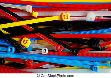Ties - Cable ties in various colours