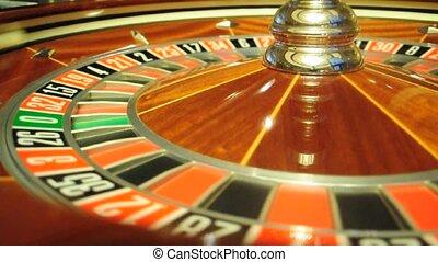roulette wheel